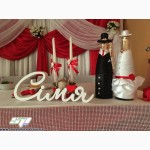 Объемные буквы из пенопласта, фигуры, декорации, поздравления