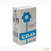 Соль 1 помол, пачка 1, 5 кг 3890.00 грн/тн