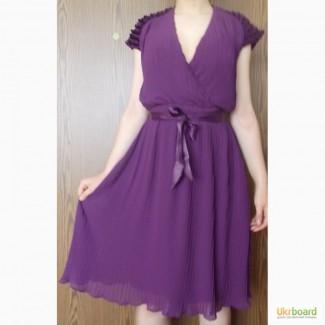 Плиссированное платье Mango р.S