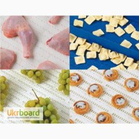 Модульные ленты серии Uni CNB с шагом 25.4 мм для транспортировки пищевых полуфабрикатов