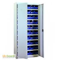 Шкаф для инструментов и метизов с пластиковыми ящиками