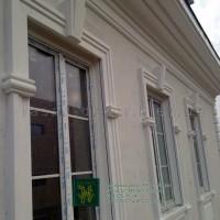 Фасадный декор-обрамление окон