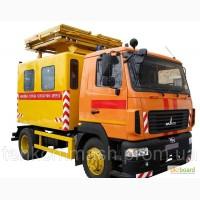 Аварийная АТ-70М-041 для ремонта контактных сетей на МАЗе