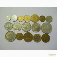 Монеты Франции (17 штук)