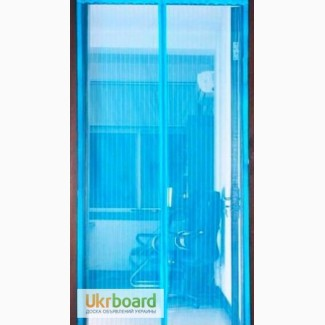 Москитная сетка на двери и окна на магнитах и самоклейке от украинского производителя