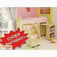 Продаем со СКИДКОЙ детскую кровать + стол