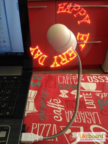 Фото 12. Удобный мини-вентилятор с подсветкой USB вентилятор Flash Fan, выручит вас жарким