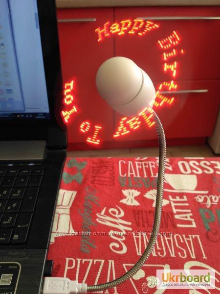 Фото 13. Удобный мини-вентилятор с подсветкой USB вентилятор Flash Fan, выручит вас жарким