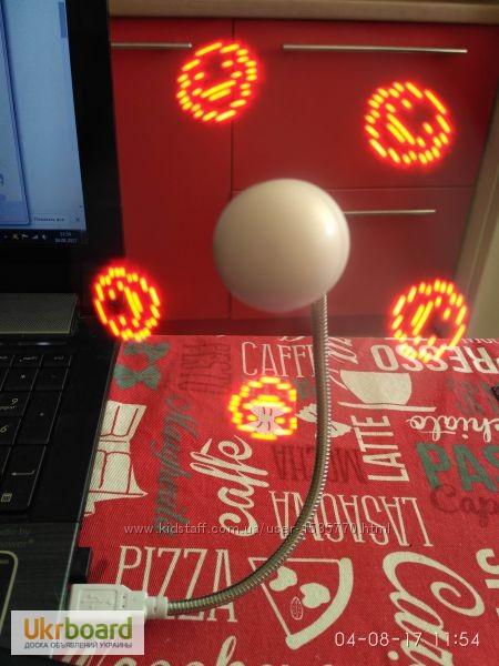 Фото 14. Удобный мини-вентилятор с подсветкой USB вентилятор Flash Fan, выручит вас жарким