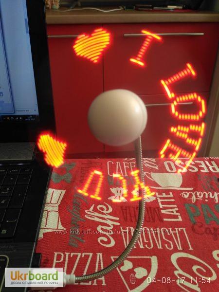 Фото 17. Удобный мини-вентилятор с подсветкой USB вентилятор Flash Fan, выручит вас жарким