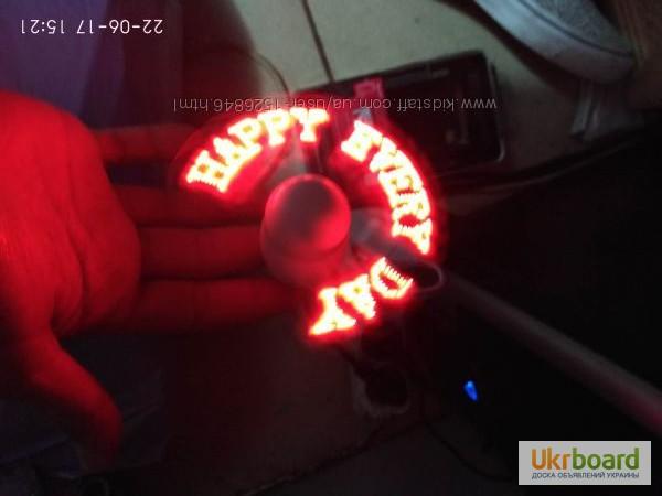 Фото 4. Удобный мини-вентилятор с подсветкой USB вентилятор Flash Fan, выручит вас жарким