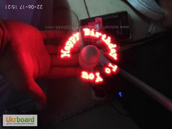 Фото 6. Удобный мини-вентилятор с подсветкой USB вентилятор Flash Fan, выручит вас жарким