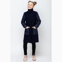 Стильное демисезонное пальто для девочки vpd-2 134-164 р