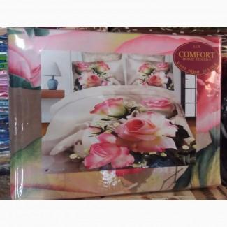 Комплекты постельного белья, расцветки и размеры разные, опт и розница