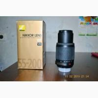 Nikon DX AF-S Nikkor 55-200mm 1:4-5.6G ED VR IF SWM