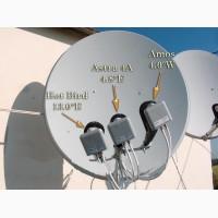 Установка спутникового ТВ без абонплаты