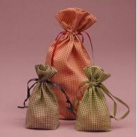 Пошив мешочков. Подарочные мешочки с нанесением вашего логотипа из органзы, велюра, замша