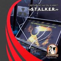 Подарочный Сертификат на игру в квест «S.T.A.L.K.E.R.» 10 чел. 90 мин