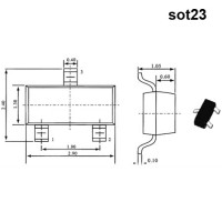 Стабилитроны импортные серий bzv85 bzv55 bzx84 1n53 в корпусах SOT23 SOD80 DO41 DO201