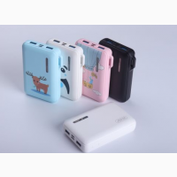 Детский Powerbank павер банк для детей и любимых Aspor A358 для маленькой сумочки