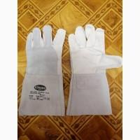 Продам перчатки сварщика (краги) новые, кожаные