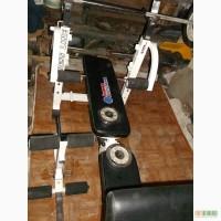 Тенажер скамья многофункциональная + штанга 60 кг cсостояние новый