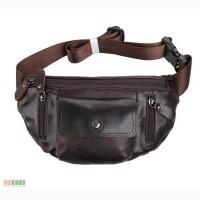Продается стильная сумка на пояс из натуральной кожи, винтаж