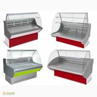Холодильные и морозильные витрины, шкафы, морозильные лари, регалы