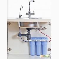 Установка фильтра под раковину для очистки воды