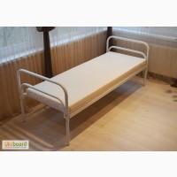 Кровати металлические недорого, двухъярусные кровати оптом, кровать для общежитий