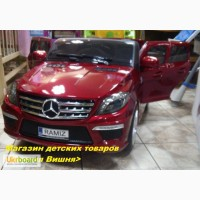 Электромобиль Mercedes-Benz AMG ML63 RED