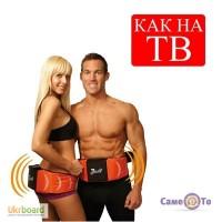 Украина.Пояс для похудения + электростимуляция Gymform Dual Shaper, Джимформ Дуал Шейпер