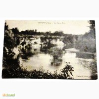 Открытка (ПК). Франция. Арденны. Лемон. Река Аубе.1916г. Лот 168