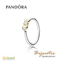 Оригинал Pandora кольцо изящный бант 190972