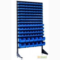 Стойка модульная для лотков 1.8 м Стеллаж для хранения мелочей Стеллаж под ящики