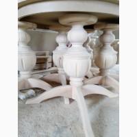 Токарные работы по дереву-ножки для мебели, нога -опора для стола, балясины, столбы и т.д