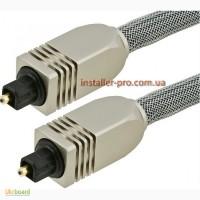 Цифровой оптический аудио кабель (Toslink) 3 м Monoprice