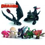 Набор фигурок из мультфильма про драконов