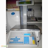 Весы с чекопечатью б/у DIGI SM-300 с гарантией- 2 шт