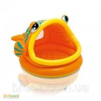 Бассейн для детей Intex 57109 Рыбка с навесом 124 х 109 х 71 см