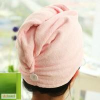 Полотенце-тюрбан для волос из микрофибры