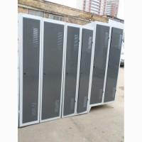 Металлические Шкафы для одежды б у, шкафчики для персонала б/у