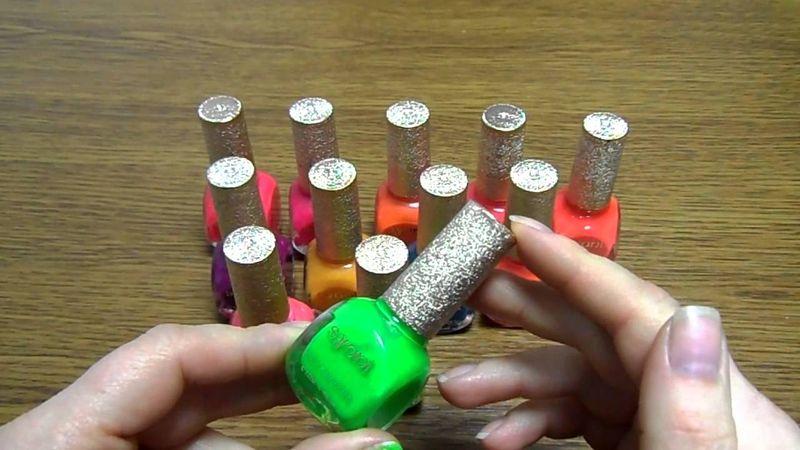 Как сделать светящийся лак для ногтей в домашних условиях своими руками