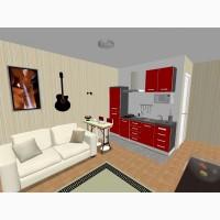 Смарт-квартира студия 15.49 кв.м. под чистовую отделку м. Нивки