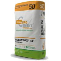 Цемент ПЦ II/Б-Ш- 400 (Евроцемент), 50 кг завод.тара