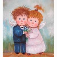 Что подарить на свадьбу-картина маслом - Вместе навсегда