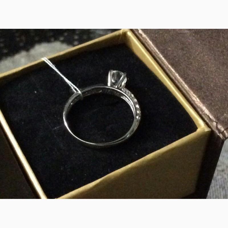 Фото 2. Кольцо с бриллиантом 0. 25 карата