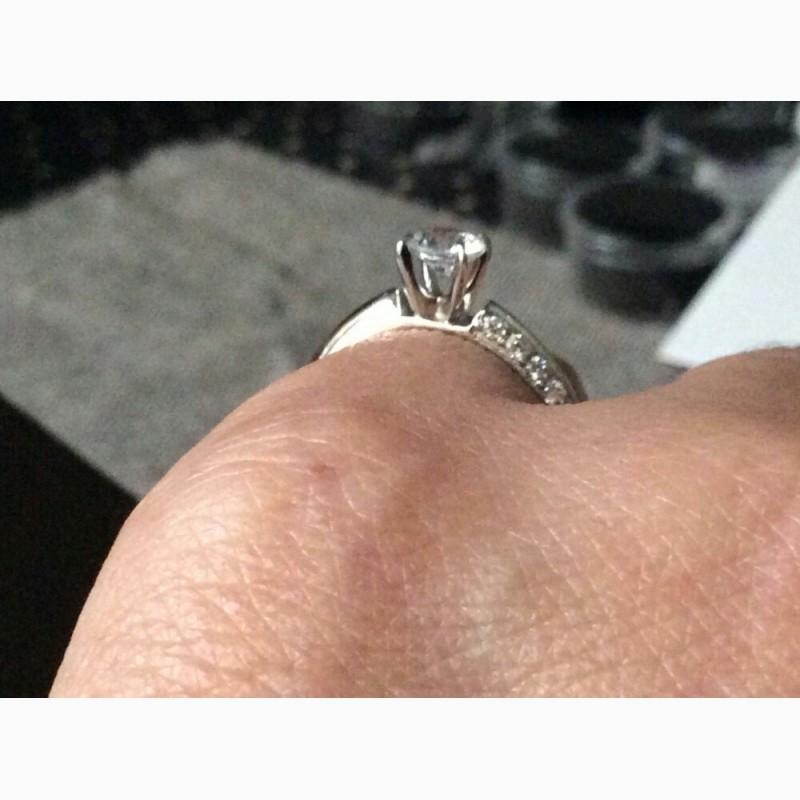 Фото 6. Кольцо с бриллиантом 0. 25 карата