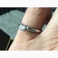 Кольцо с бриллиантом 0. 25 карата