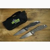 Складной нож Широгоров Ф95 (F95) (Реплика), сталь м390 + карбон/титан, Green Thorn